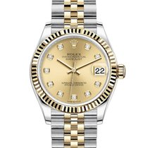 Rolex Datejust Rolex 278273 Datejust 31mm  Champagne Diamond dial New Gold/Steel 31mm Automatic United States of America, California, Los Angeles