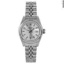 Rolex ladies 69174 Datejust - Silver Stick Dial