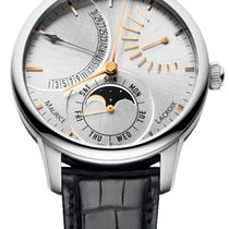 Maurice Lacroix Masterpiece Lune Retrograde Automatic mp6528-s...