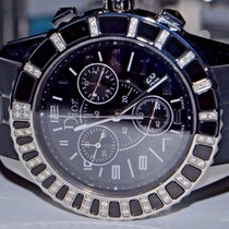 Dior Christal Steel 38mm Black No numerals United States of America, New York, Greenvale