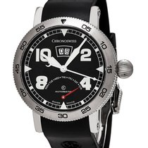 Chronoswiss Steel 44mm Automatic CH-8143-BK new United States of America, New York, Greenvale