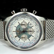 Breitling Transocean Chronograph Unitime Chronograph Watch 46mm