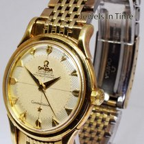 Omega Vintage 1950'S Constellation 14k Solid Gold Automatic...