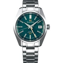 Seiko 40,00mm Automatic 2018 pre-owned Grand Seiko Green