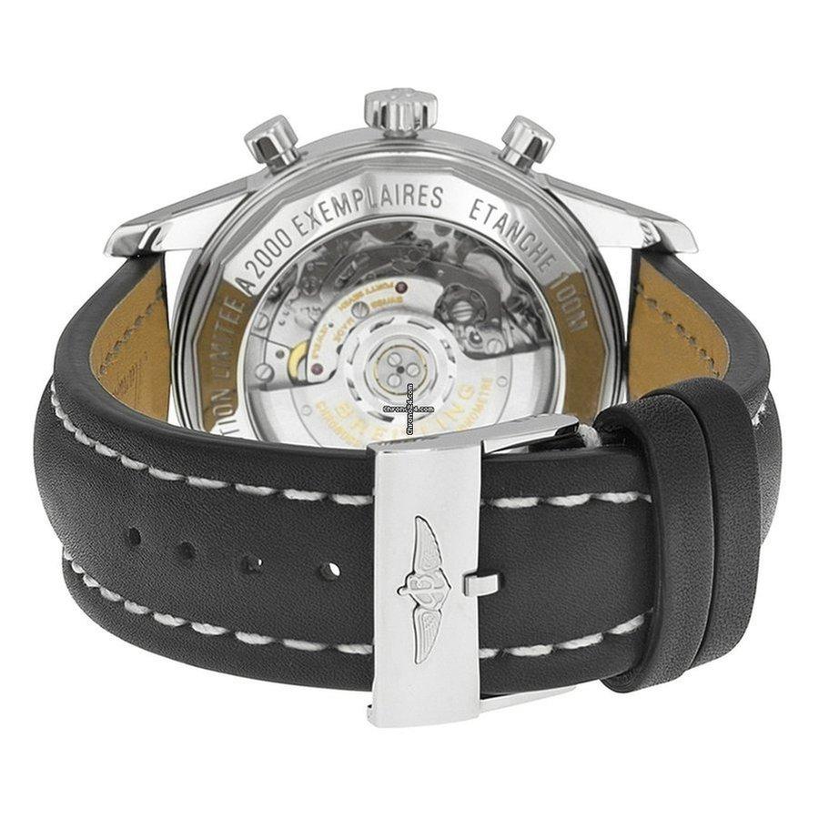 Breitling Transocean Chronograph GMT AB045112/BC67/435X nuevo