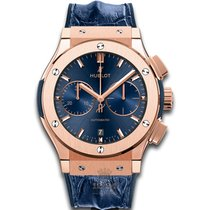 Hublot Chronograph 45mm Automatic new Classic Fusion Blue Blue