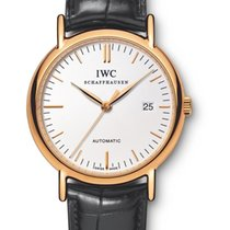 IWC IW353321 Yellow gold Portofino Automatic pre-owned