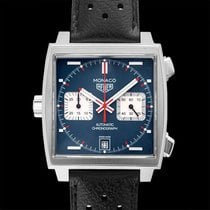 TAG Heuer Monaco Calibre 11 Steel 39.00mm Blue