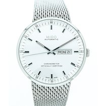 Mido Steel 42mm Automatic M031.631.11.031.00 new