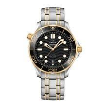 Omega Seamaster Diver 300 M ny 42mm Guld/Stål