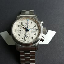 Fortis Chronograph 42mm Automatic 2004 pre-owned B-42 Flieger Champagne