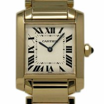Cartier Tank Française W50014N2 2001 pre-owned