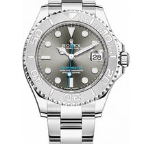 Rolex Yacht-Master 37 Steel 37mm Grey No numerals United Kingdom, Edinburgh