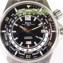 Ball Engineer Master II Diver Steel 45mm Black Arabic numerals