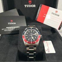 Tudor Black Bay GMT Stal 41mm Czarny Bez cyfr