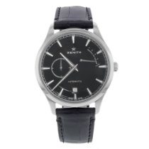 Zenith Elite Power Reserve Steel 40mm Black United States of America, New York, New York