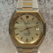 Omega Gold/Steel 36mm Quartz Constellation pre-owned
