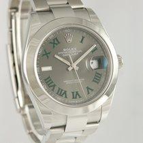 Rolex Datejust II Stahl 40mm Grau Römisch Deutschland, Heilbronn