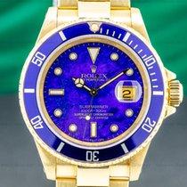 Rolex 16618 Or jaune 1994 Submariner Date 40mm