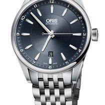 Oris Artix Date, Blue Dial, Steel Bracelet