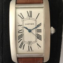 Cartier Tank Américaine occasion 45mm Or blanc
