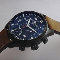 Alpina Startimer Swiss Black Chronograph New