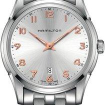 Hamilton Jazzmaster Thinline H38511113 Herrenarmbanduhr flach...
