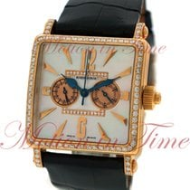 Roger Dubuis Golden Square 34mm Ladies Chronograph, Mother of...