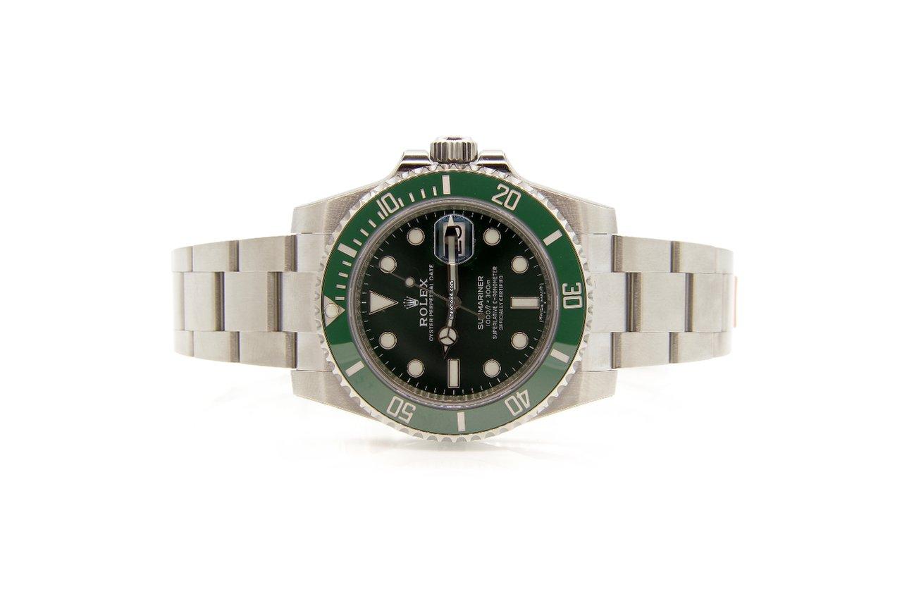 443c9ae8752 Rolex Submariner 116610 Green Dial (Hulk Watch) Ceramic Bezel for ...