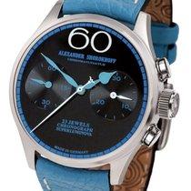 Alexander Shorokhoff Relógio de senhora 39mm Corda manual novo Relógio com caixa e documentos originais