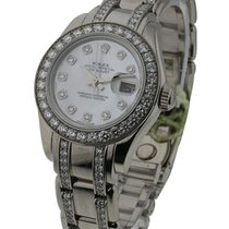 Rolex Used 80299 Pearl Master in White Gold with 32 Diamond...