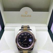 Rolex Datejust II Black Roman Dial
