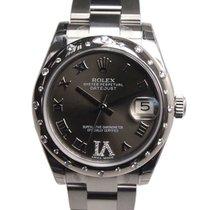 勞力士 (Rolex) Lady Datejust White Gold And Steel Dark Grey...