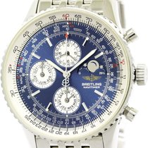Breitling Navitimer Olympus Moon Phase Automatic Watch A19340...