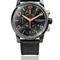 Montblanc Carbon Automatic pre-owned Timewalker