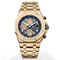 Audemars Piguet Royal Oak Offshore Chronograph Yellow gold 42mm Blue Arabic numerals