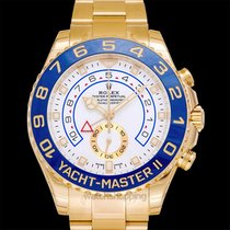 Rolex Yacht-Master II Yellow gold 44mm White United States of America, California, San Mateo