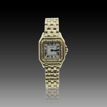 Cartier Panthère Dame Or jaune 18k Diamants Quartz