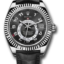 Rolex Sky-Dweller White gold 42mm Black Arabic numerals United States of America, New York, New York