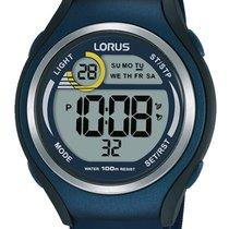 Lorus Plastic Quartz Blue 44mm new