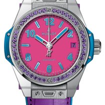 Hublot Big Bang Pop Art Stahl 39mm Pink