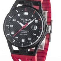 Locman Carbon Automatic 0544C09S-CRCBWHSR new