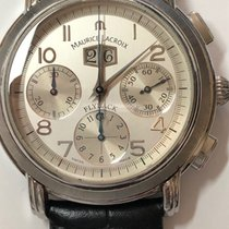 Maurice Lacroix 44mm Automatic 2004 pre-owned Silver