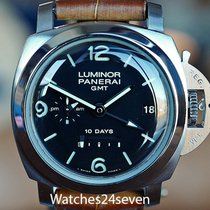 沛納海 Luminor 1950 10 Days GMT 44mm 黑色