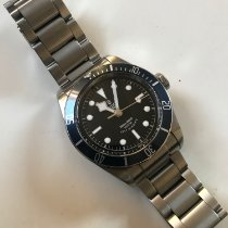 Tudor 79220B Stål 2016 Black Bay 41mm begagnad