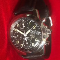 Sinn Chronograph 40mm Automatic 1998 pre-owned 103 Black
