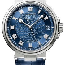 Breguet 5517BB/Y2/9ZU White gold Marine 40mm new United States of America, Florida, North Miami Beach