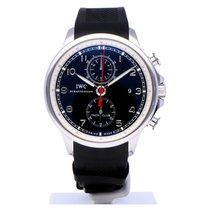 IWC Portuguese Yacht Club Chronograph tweedehands 45mm Staal