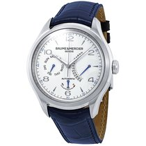 Baume & Mercier Clifton Steel White