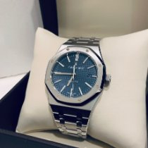 Audemars Piguet Royal Oak Selfwinding Steel 41mm Blue No numerals United States of America, Illinois, Springfield